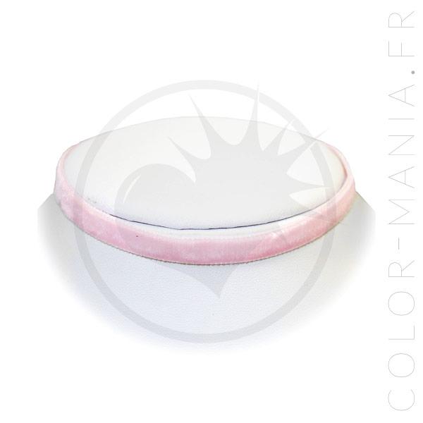 Collier Ras-de-Cou Velours Rose Pastel | Color-Mania