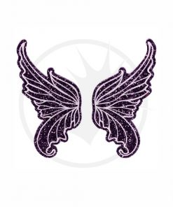 Paillettes Purple Fairy Wings | Color-Mania