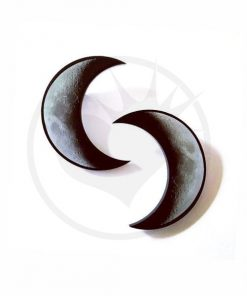 Crescent Bars of Moon gris y negro | Color-Mania.fr