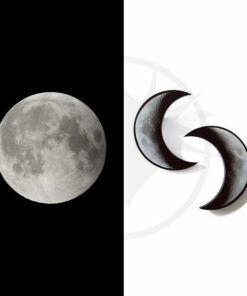 Crescent Bars of Moon Grigio e Nero | Color-Mania