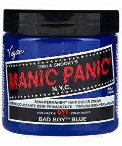 Pot de coloration cheveux bleu Bad Bay Blue Manic Panic