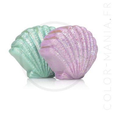 Duo Mermaizing Seashell Lip Balm - Mermaizing | Color-Mania.fr