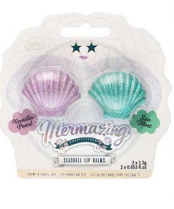 Duo Baumes à Lèvres Coquillages Sirène - Mermaizing | Color-Mania.fr