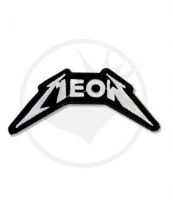 Patch Meow Metallica Noir & Blanc | Color-Mania