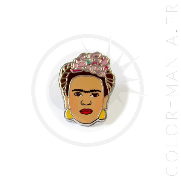 Pin's Frida Kahlo | Color-Mania.fr