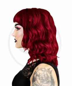 Résultat estimé de la coloration rouge Scarlett Herman's Amazing sur modèle