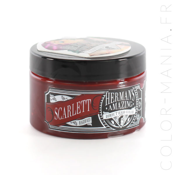 Coloration Cheveux Rouge Scarlett Red - Herman's Amazing | Color-Mania