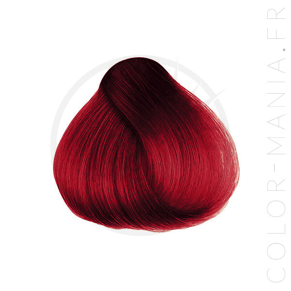 Red Hair Coloration Scarlett Red - Herman's Amazing | Color-Mania.fr