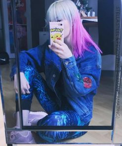 Merci @frenchcreature_ :) Coloration Cheveux Rose Peggy Pink UV - Herman's Amazing | Color-Mania
