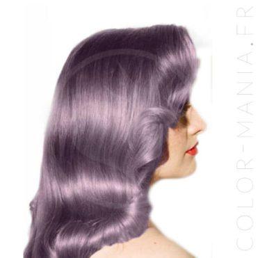 Color de pelo lila cenizas amatista - pánico maníaco | Color-Mania.fr