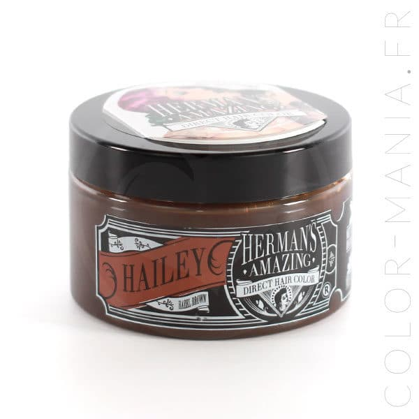 Coloration Cheveux Châtain Hailey - Herman's Amazing | Color-Mania