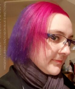 Couleur cheveux noir reflet violet