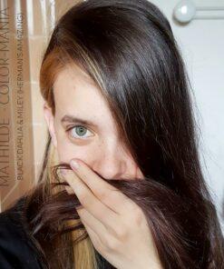 Merci Mathilde :) Coloration Cheveux Noir Black Dahlia - Herman's Amazing - 2 doses Black Dahlia + 1 dose Miley | Color-Mania