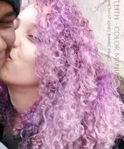 Grazie Lyllith :) Colore dei capelli Lilla Ceneri ametiste - Panico maniacale | Color-Mania