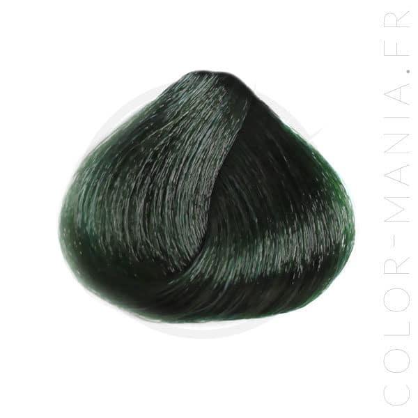 Mèche de coloration cheveux vert sapin Urban Crazy