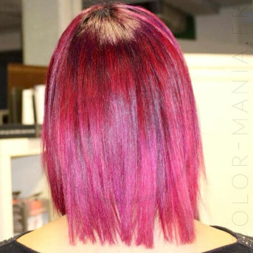 Coloration Cheveux Rose Magenta - Urban Crazy | Color-Mania