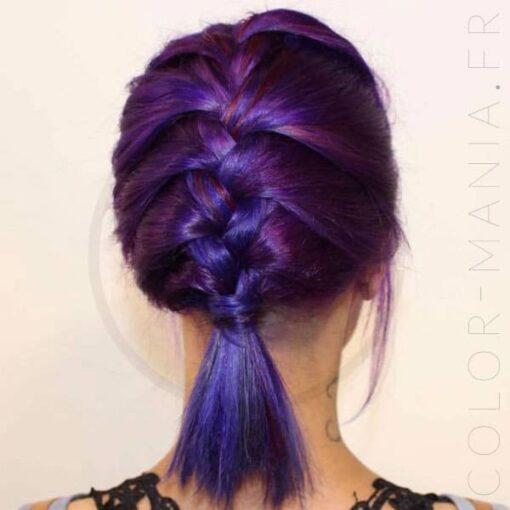 Kit Coloration Cheveux Violet Rose - Urban Crazy | Color-Mania