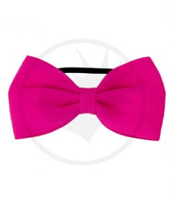Elástico Hair Bow Pink Fuchsia | Color-Mania