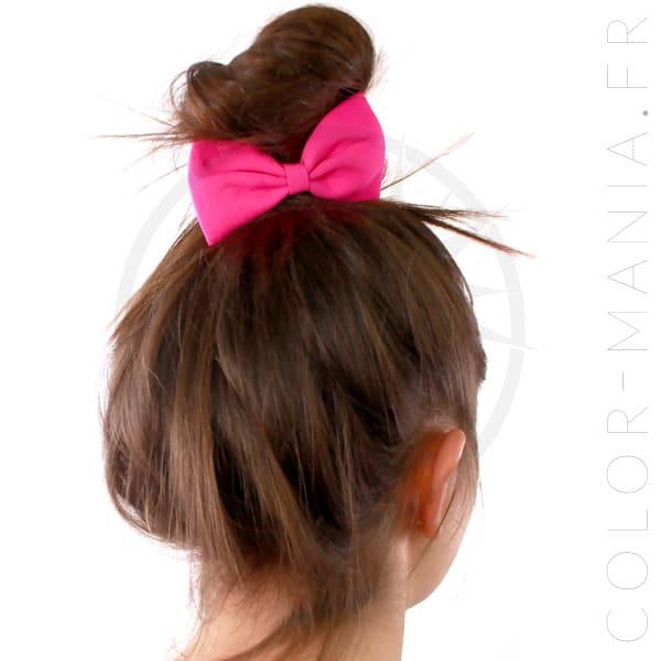 Elástico Hair Bow Pink Fuchsia | Color-Mania