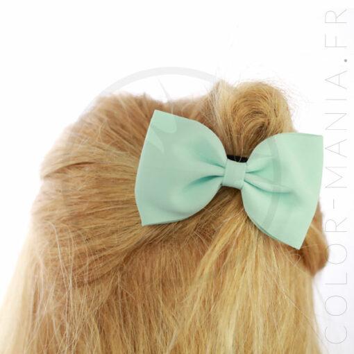 Menta verde elastica dell'arco dei capelli | Color-Mania