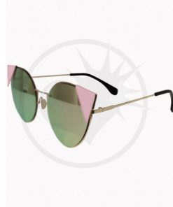 Lunettes de Soleil Triangles Lauren Rose Pastel - Banned | Color-Mania.fr