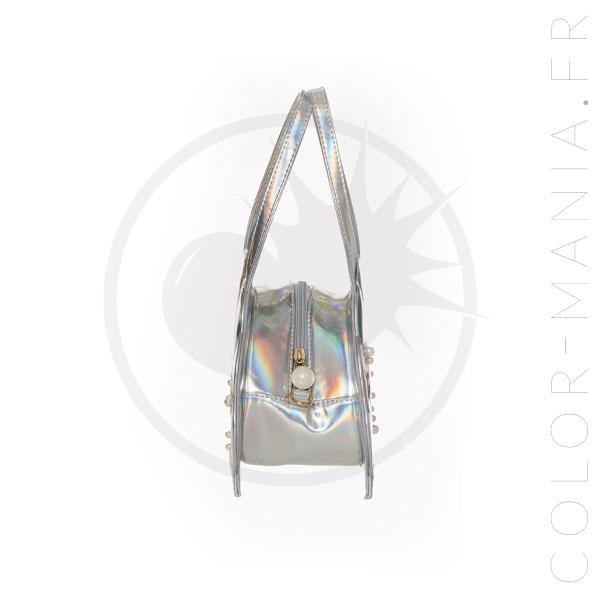 Sac à Main Coquillage Holographique Ariel - Banned   Color-Mania.fr