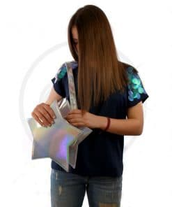 Holographic Star Handbag - Banned | Color-Mania
