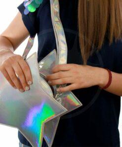Sac à Main Etoile Holographique - Banned | Color-Mania