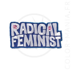 Patch Radical Feminist | Color-Mania.fr