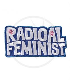 Patch Feminista Radical | Color-Mania.fr