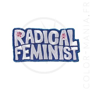 Patch Radical Feminist | Color-Mania.fr