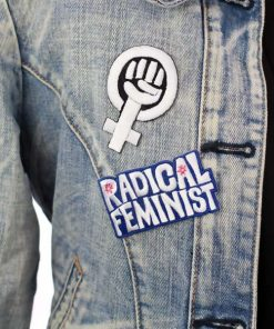Radical Feminist Patch Blue | Color-Mania