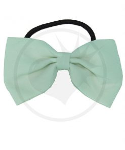 Elastic Green Hair Bow Mint | Color-Mania.fr