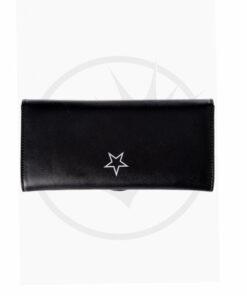 Nemesis Mystic Cat Wallet Black - Prohibida | Color-Mania.fr