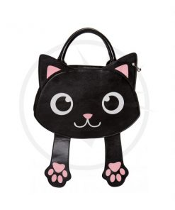 Bolso Kawai Black Cat - Prohibido | Color-Mania.fr