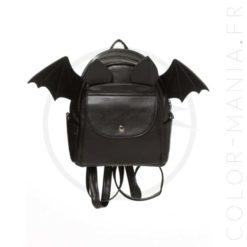 Bat Bat Backpack Black - Prohibido | Color-Mania.fr
