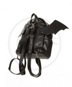 Bat Bat Backpack Black - Prohibido | Color-Mania.fr