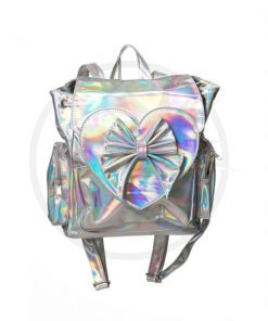 Nyla Holographic Backpack - Banido | Color-Mania.fr