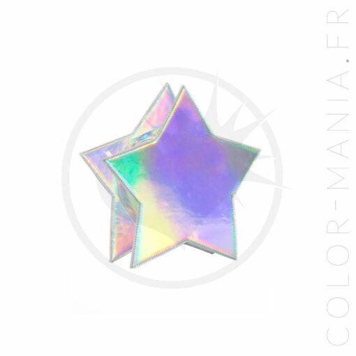 Sac à Main Etoile Holographique - Banned | Color-Mania.fr