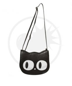 Addis Black Cat Handbag - Prohibido | Color-Mania.fr