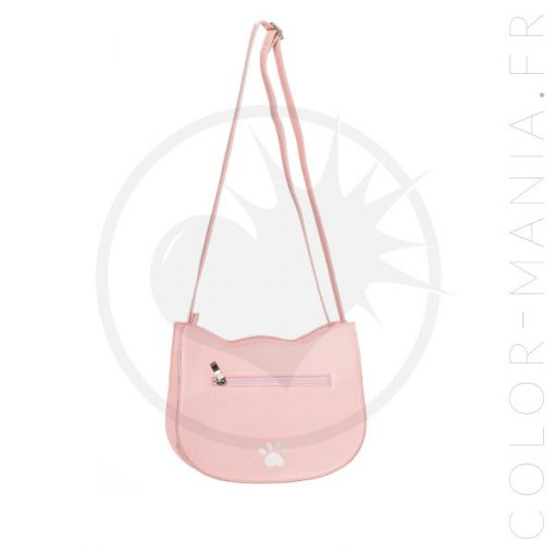 Sac à Main Chat Rose Pastel Addis – Banned | Color-Mania.fr
