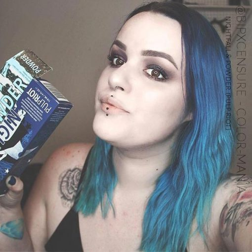 Merci @bipxcensure :) Coloration Cheveux Bleu Powder - Pulp Riot | Color-Mania
