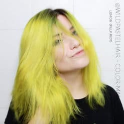 Gracias @wildpastelhair :) Hair Color Yellow Lemon - Pulp Riot | Color-Mania
