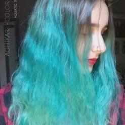 Merci AoHikari :) Coloration Cheveux Bleu Aquatic - Pulp Riot | Color-Mania
