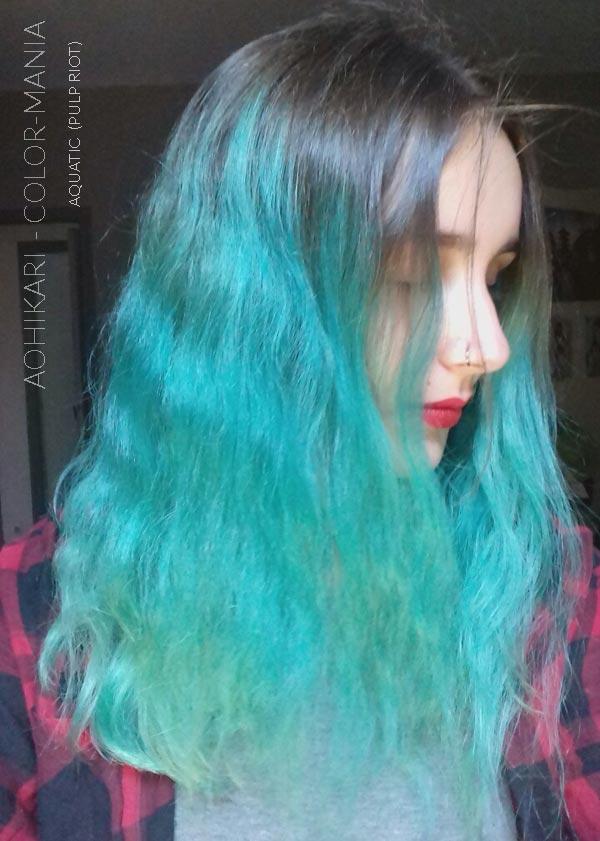 Gracias AoHikari :) Color de cabello Azul Acuático - Pulp Riot | Color-Mania