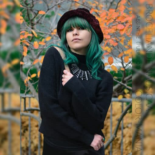 Merci Broceliande Nausicaa :) Coloration Cheveux Vert Absinthe - Pulp Riot   Color-Mania