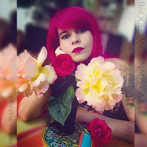 Merci Broceliande Nausicaa :) Coloration Cheveux Rouge Fireball - Pulp Riot | Color-Mania