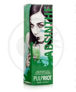 Hair Color Green Absinthe - Pulp Riot | Color-Mania.fr