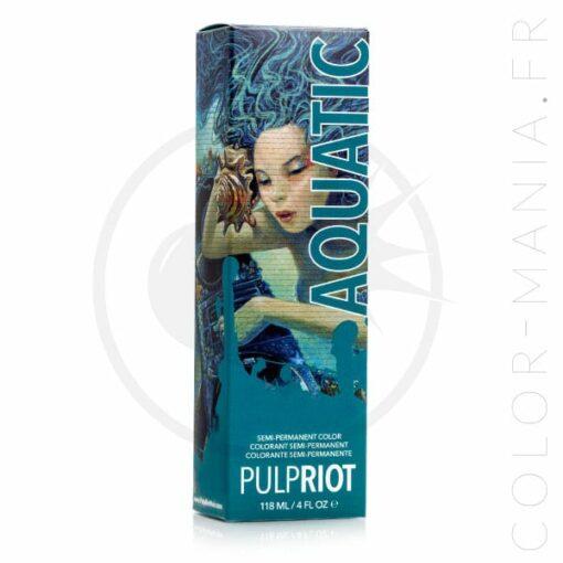 Coloration Cheveux Bleu Aquatic - Pulp Riot   Color-Mania.fr