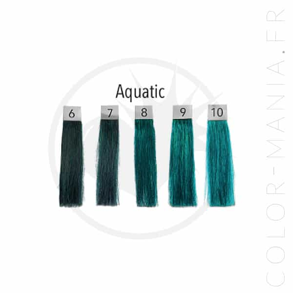 Coloration Cheveux Bleu Aquatic - Pulp Riot | Color-Mania.fr